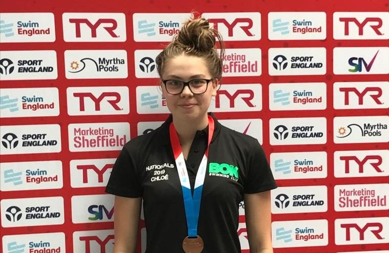BOK swimmer selected to represent Yorkshire at  Inter- County Competition